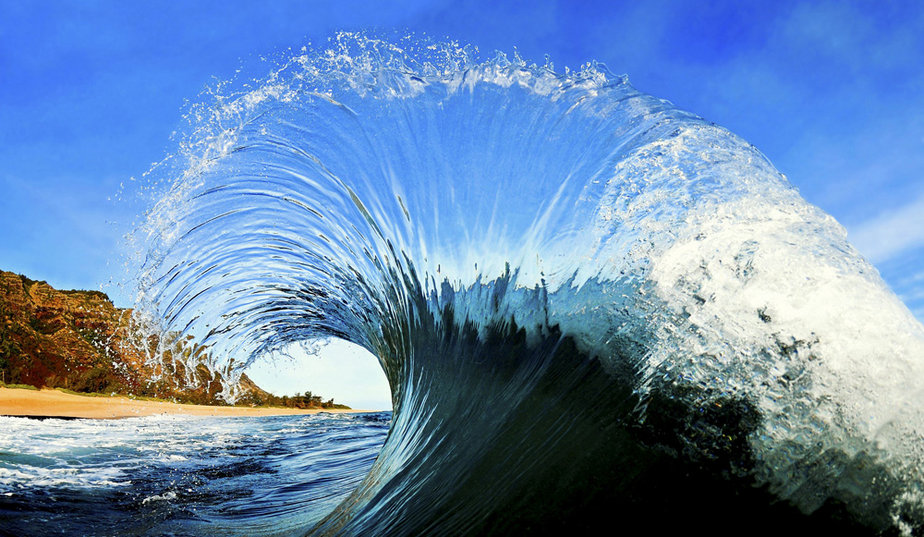 Clark Little's Tube Waves Photographs